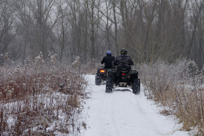 Can You Ride an ATV on Snowmobile Trails in Michigan?