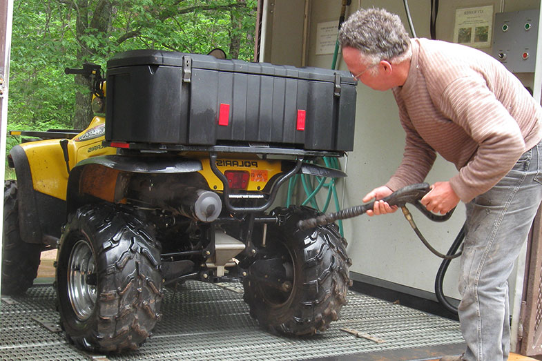 Power Wash ATV