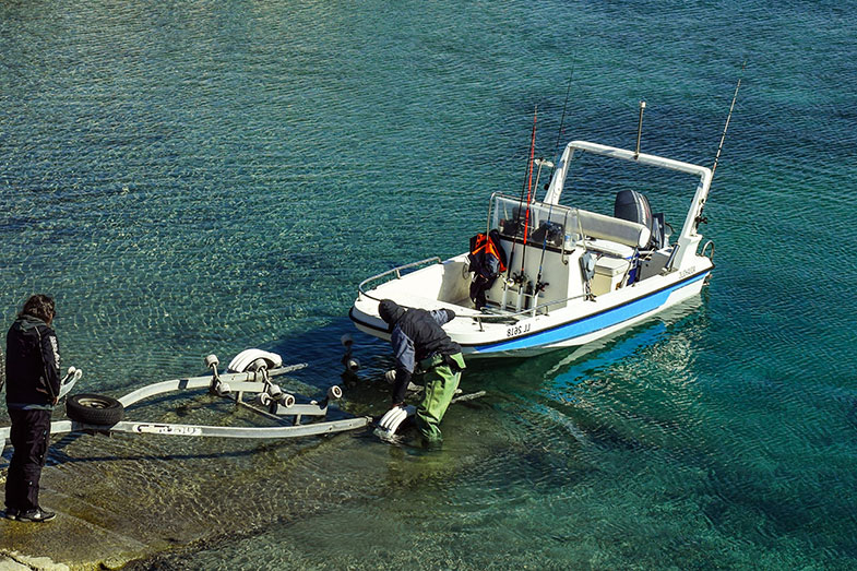 Pulling a Boat out of the Water with an ATV