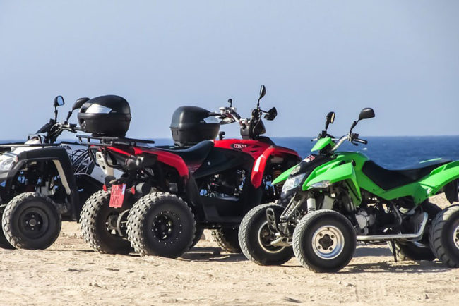 How to Store an ATV Outside (9 Tips)