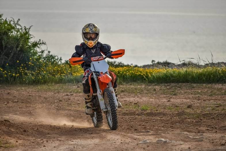 Dirt Bike Size