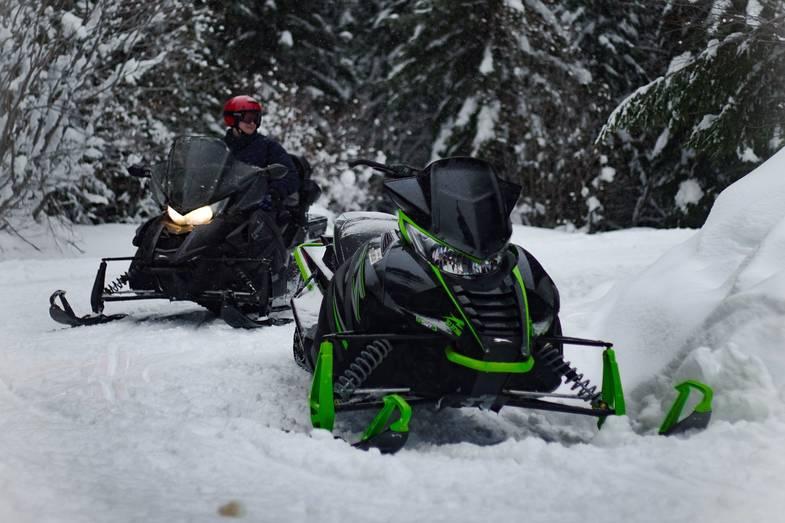 Snowmobile Reverse