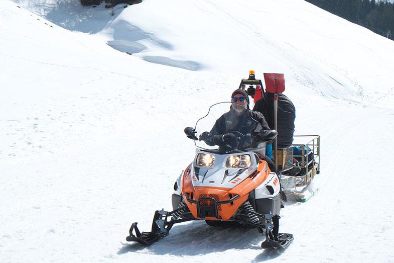 Snowmobile Sleigh Transport