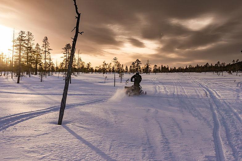 Snowmobile Winter