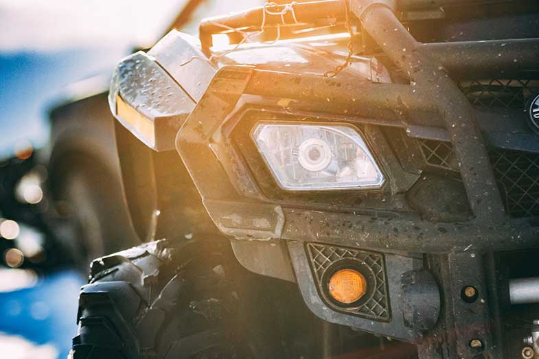 ATV Front Headlight