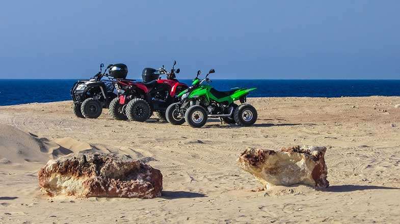Off-Road Quad Bikes 4-Wheelers