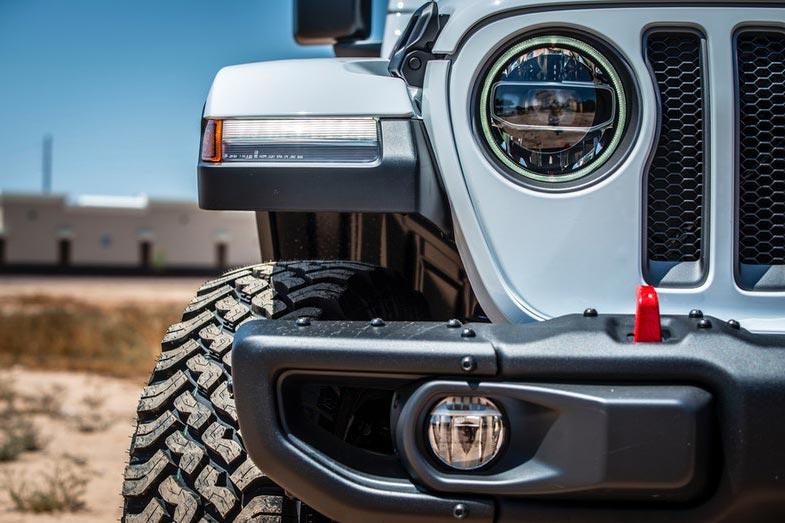 Gray Jeep Wrangler Vehicle