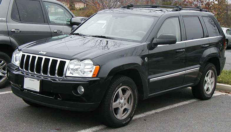 Jeep Grand Cherokee with Roof Rack