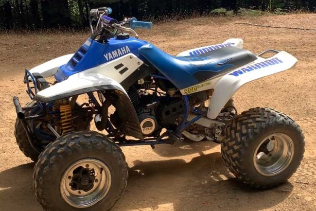 Yamaha Warrior 350 Top Speed, Specs and Review