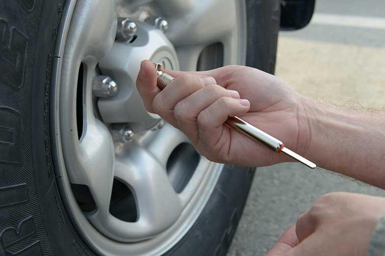 Check Tire Pressure