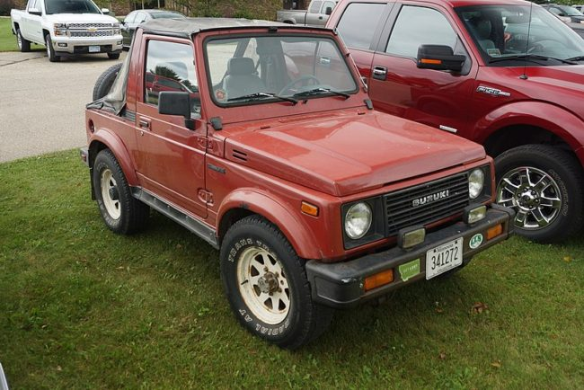 1987 Suzuki Samurai Specs and Review