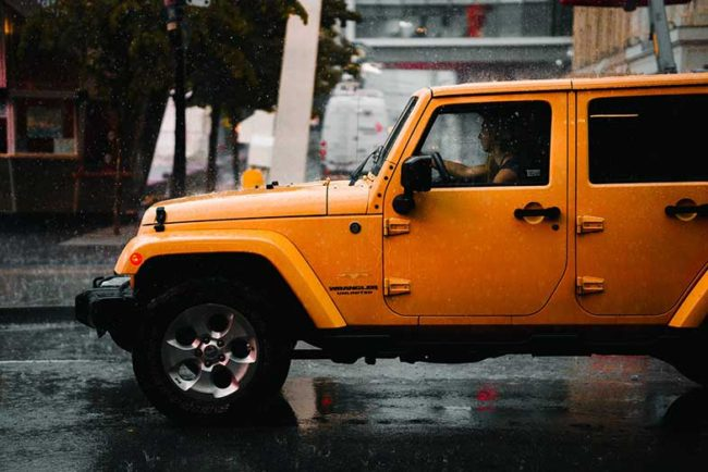 Jeep Wrangler Water Leak When It Rains: How to Fix