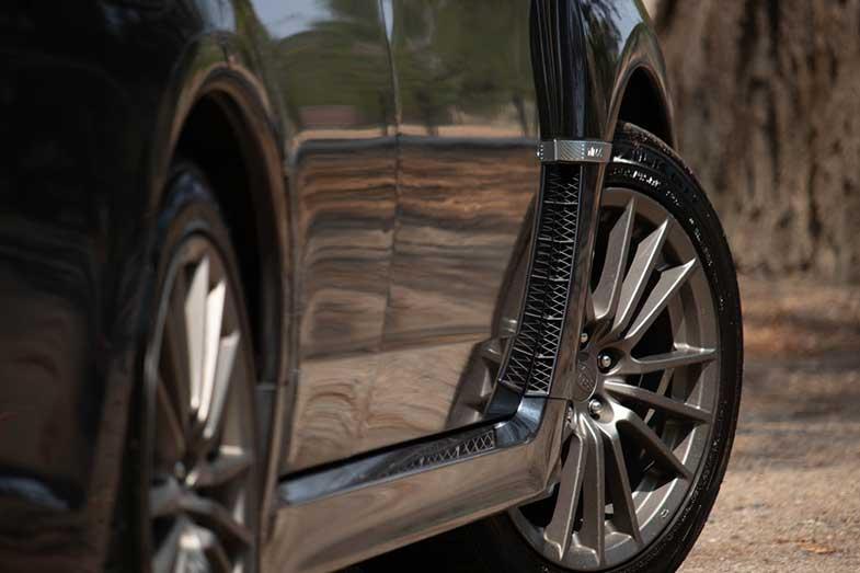 Black Car Tires