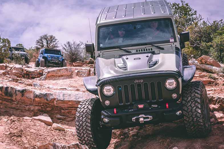Jeeps in Moab Utah