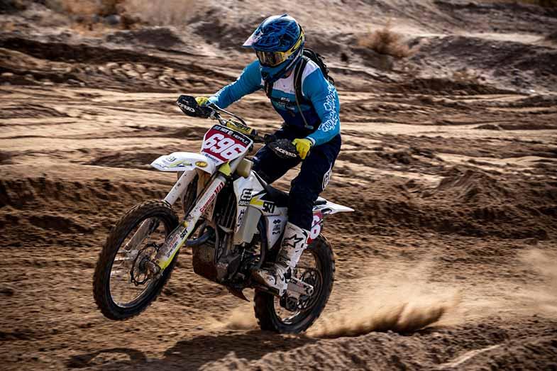 Motocross Dirt Bike Off-Road Track