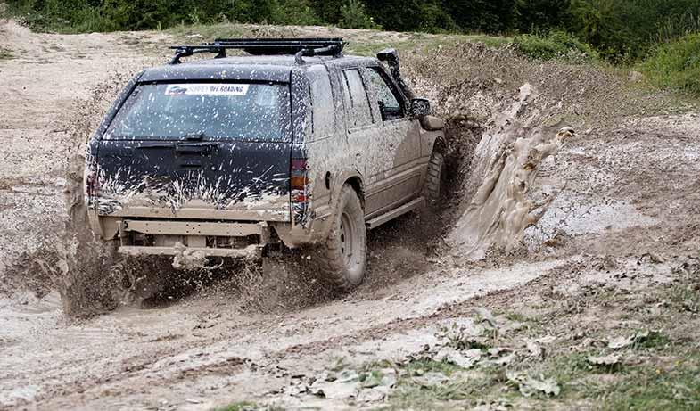 Off-Road Vehicle 4x4 Mud