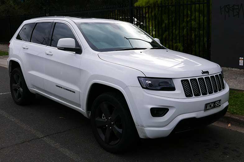 White 2014 Jeep Grand Cherokee