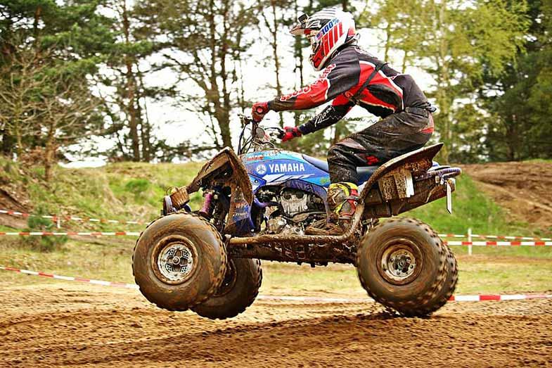 Yamaha Quad Motocross