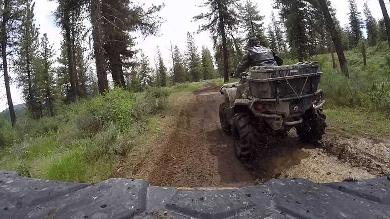 ATV Trail in Idaho
