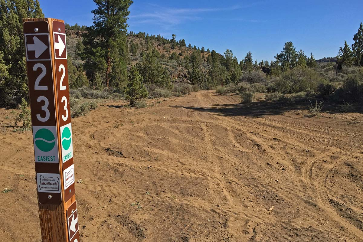 Cline Buttes Recreation Area Off-Road