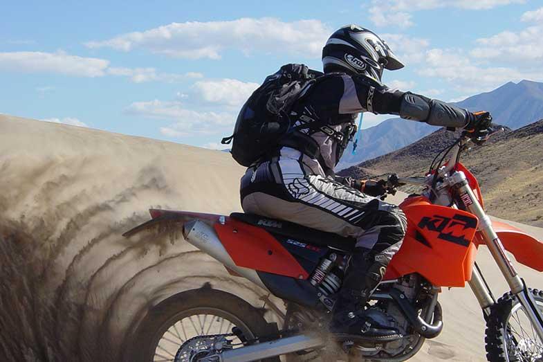 KTM Dirt Bike Sand Dunes
