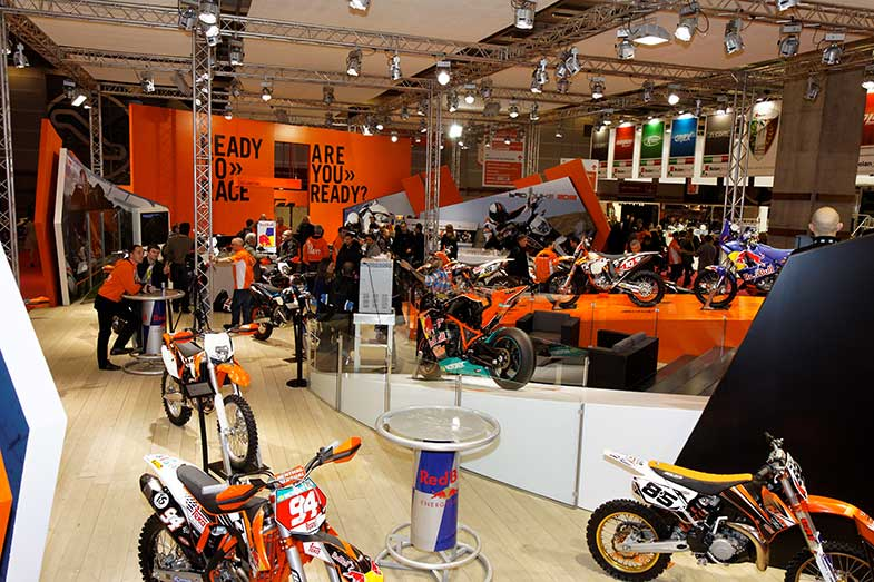 KTM Motorcycle Show