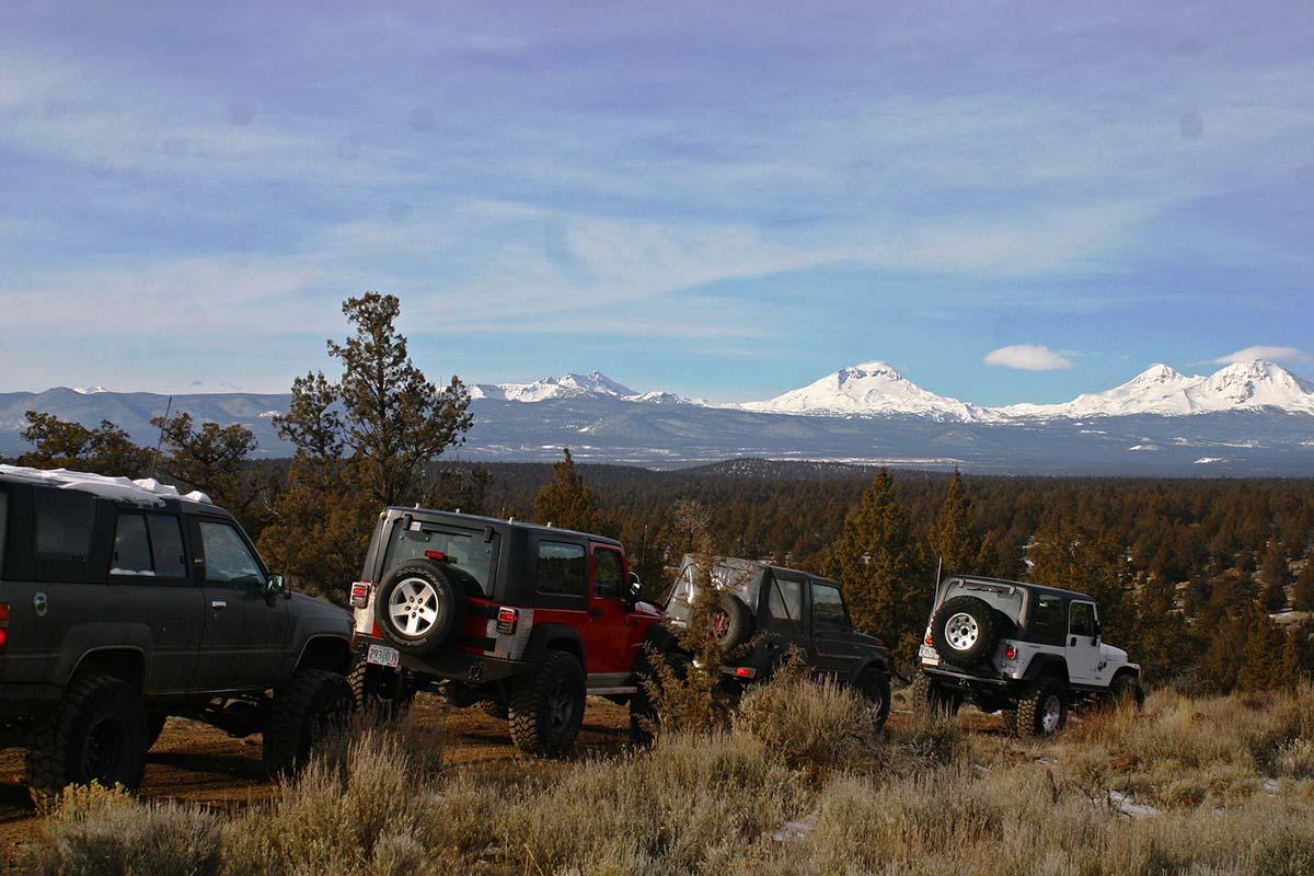 North Barr Trailhead Oregon Off-Road Trail
