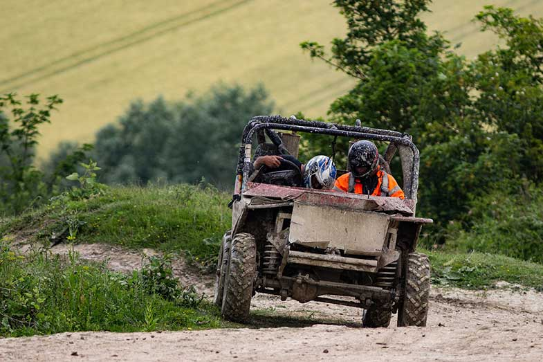 Off-Road 4x4 Mud Trail ATV