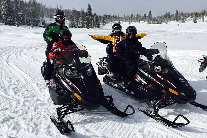 Snowmobile Tours Colorado