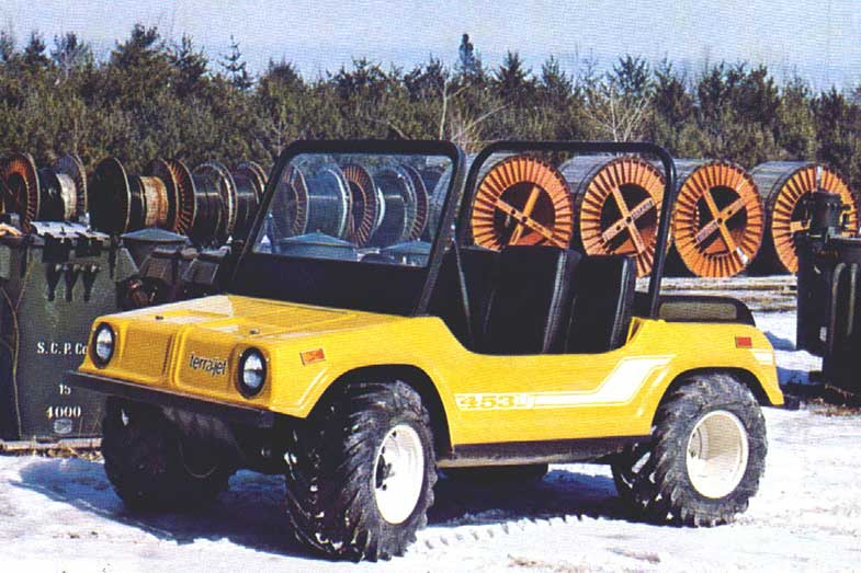 Yellow Terra Jet ATV