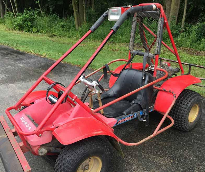 1983 Honda Odyssey ATV FL250