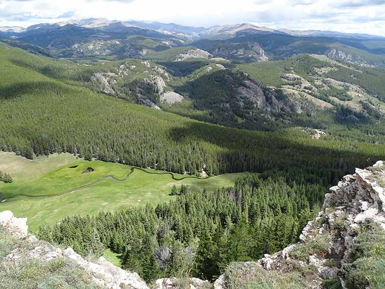 Bighorn National Forest in Wyoming