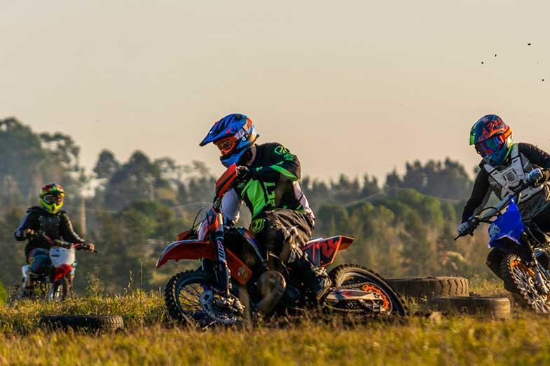 Motocross Dirt Bike Race Track