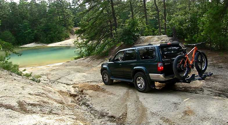 Off-Roading New Jersey Pine Barrens