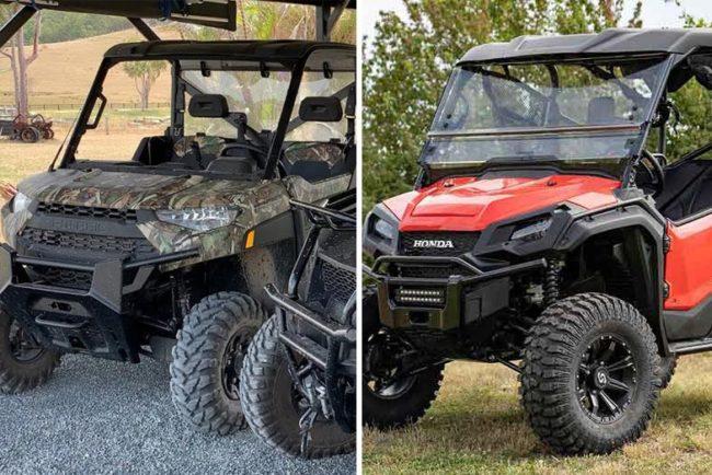 Polaris Ranger vs Honda Pioneer (Side-by-Side Comparison)