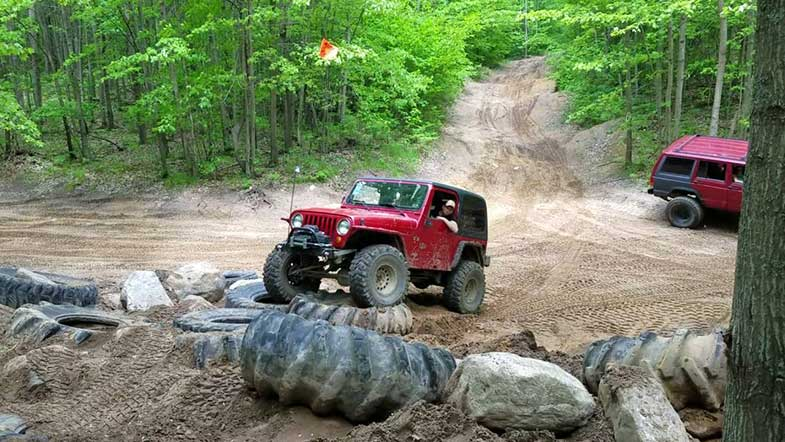 Rocks and Valleys Off Road Park