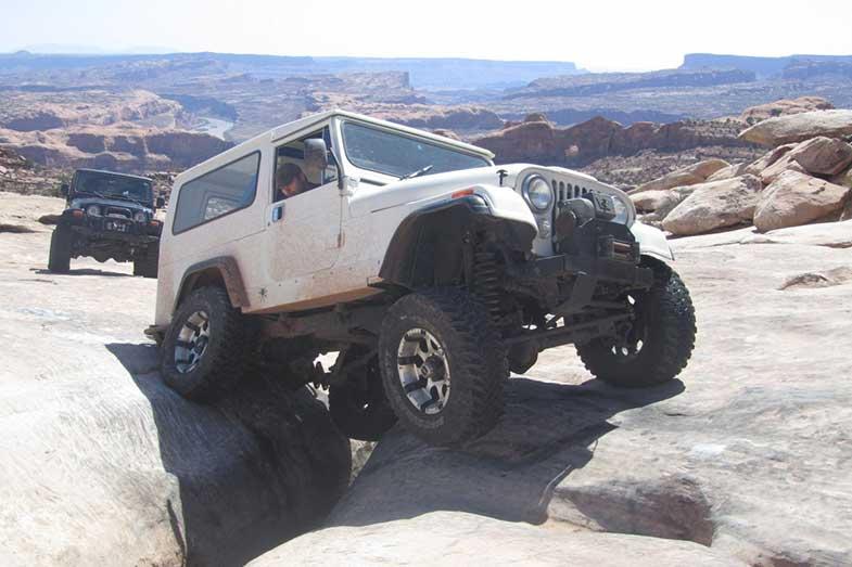 Utah Off-Roading Dangerous Terrain