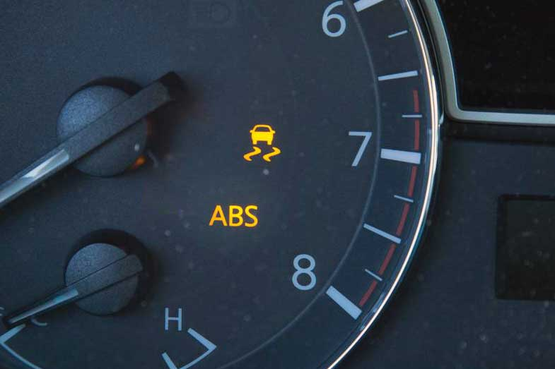 ABS and Traction Control Light On