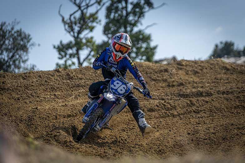 Dirt Bike Track Turn Motocross Park