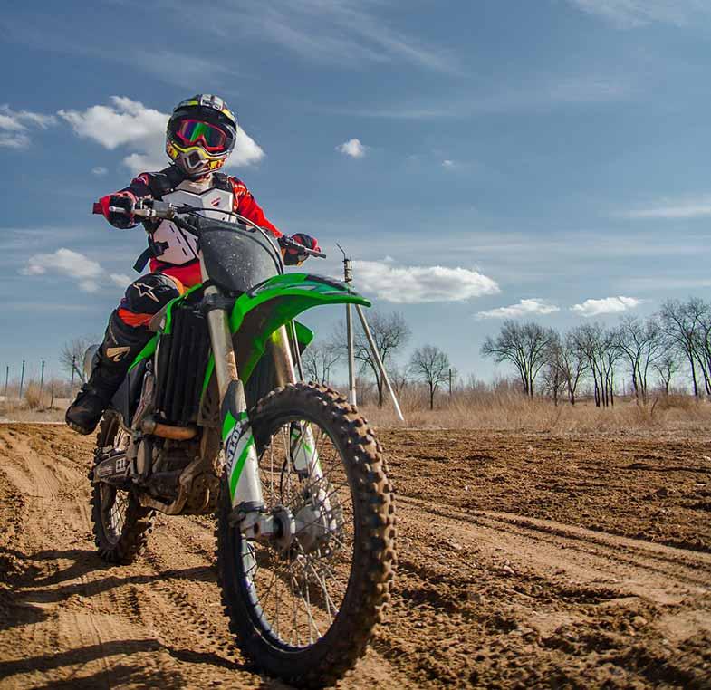 Kawasaki Dirt Bike Motocross