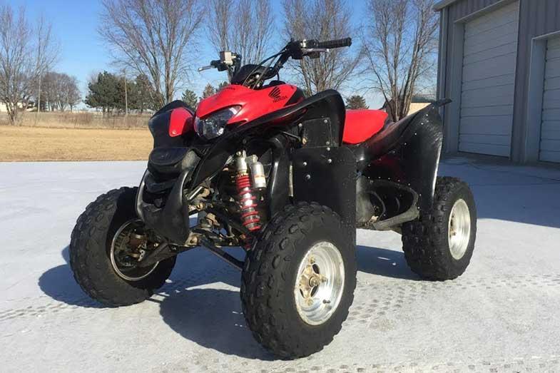 Red Honda 700XX ATV