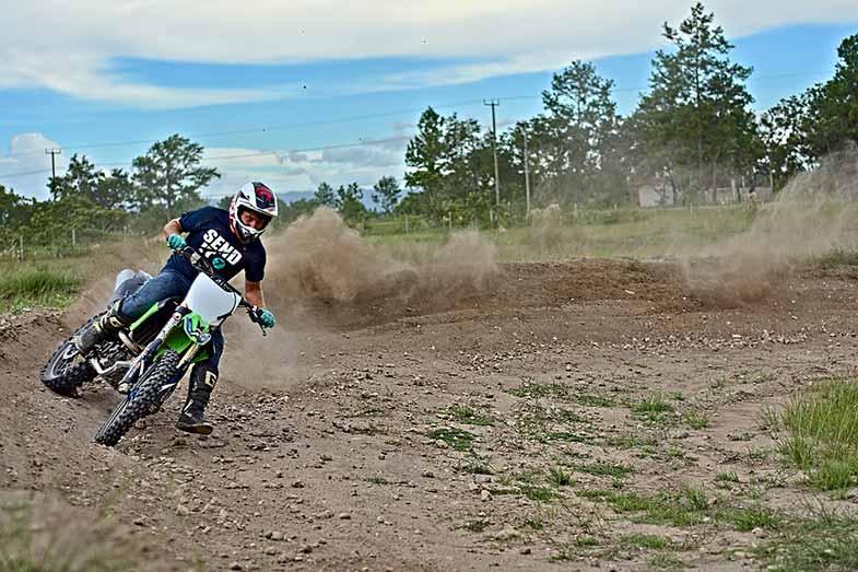 Speed Curve Kawasaki Dirt Bike Motocross