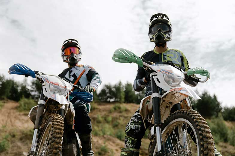 Two Dirt Bike Riders