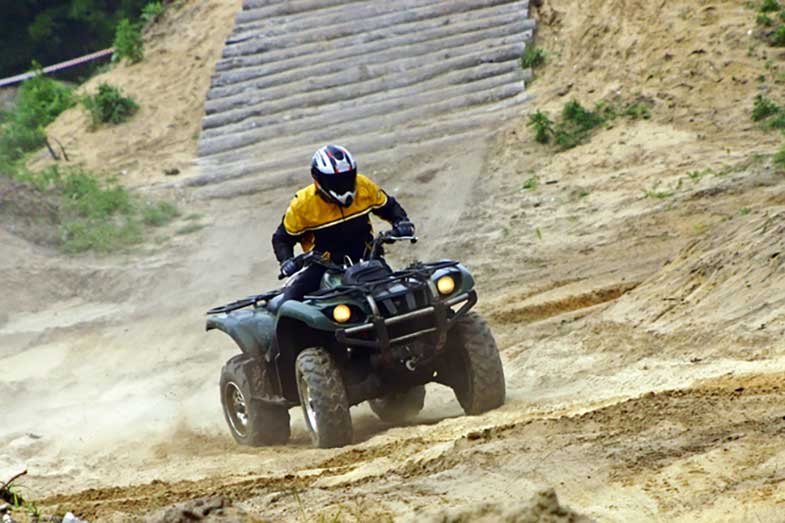 Grizzly Quad ATV Racing