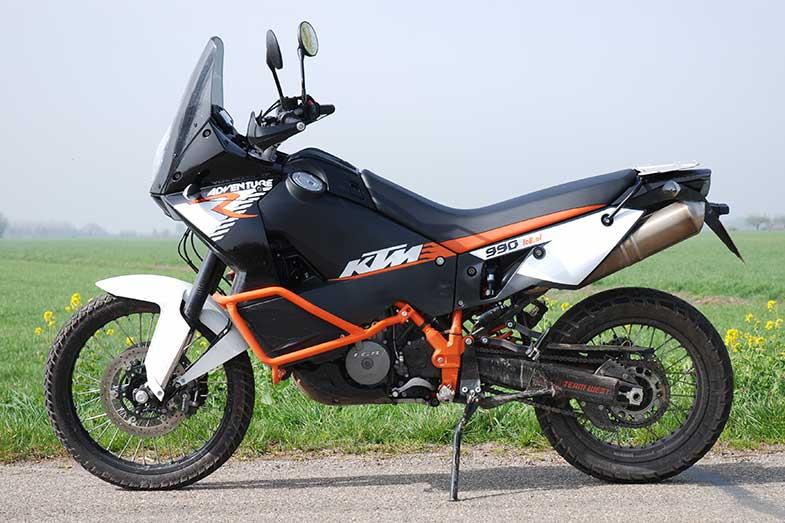 KTM 990 Adventure Bike