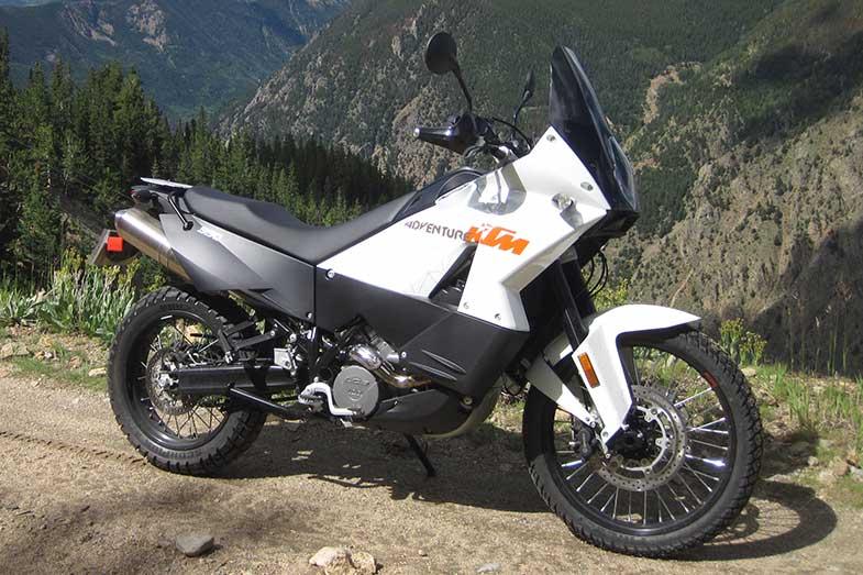 KTM 990 Adventure Mountains