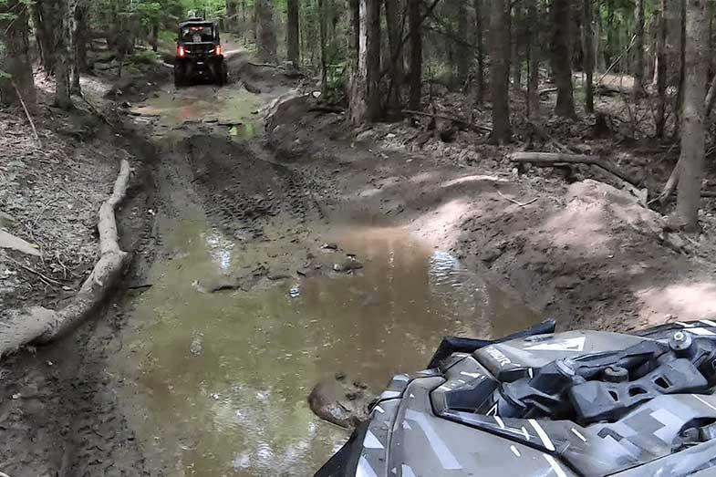 Newport Vermont ATV Trail