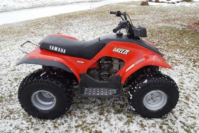 Yamaha Breeze 125 Specs and Review