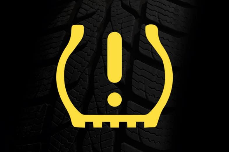 TPMS Low Tire Pressure Light Indicator