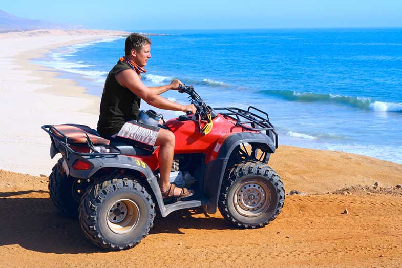 ATV Riding on the Beach